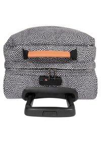 Eastpak - TRANVERZ S UNDEFINED  - Wheeled suitcase - black/white - 4