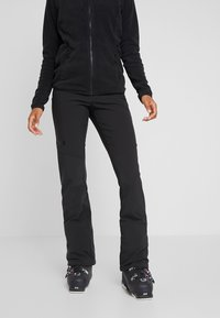 The North Face - SNOGA PANT - Snow pants - black - 0