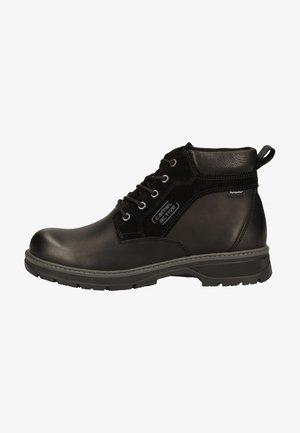 Lace-up ankle boots - black c