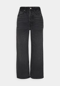 Even&Odd - Straight leg jeans - black denim - 0