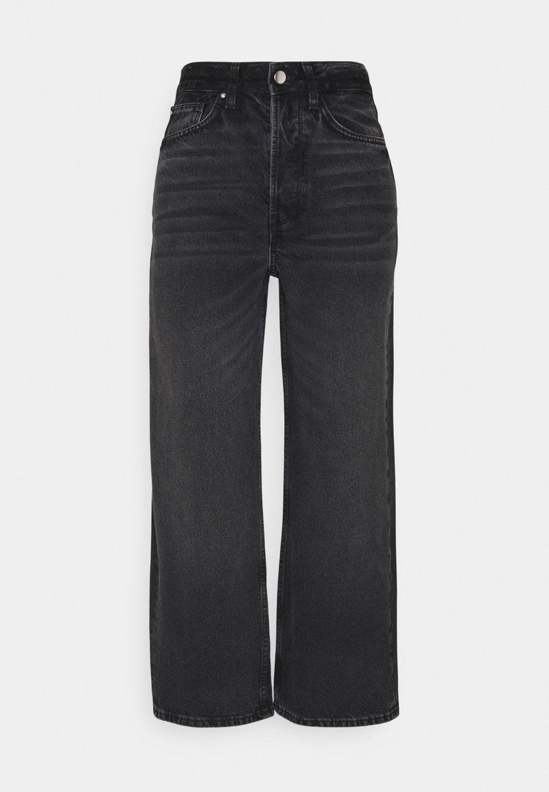 Even&Odd - Straight leg jeans - black denim