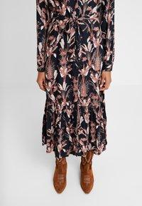 Kaffe - KASTELLA SHIRT DRESS - Maxi dress - black deep - 5