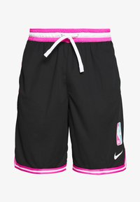 Nike Performance - NBA SHORT DNA - Krótkie spodenki sportowe - black/laser fuchsia/white - 4