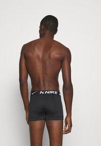 Nike Underwear - TRUNK 3PK MICRO - Pants - black - 1