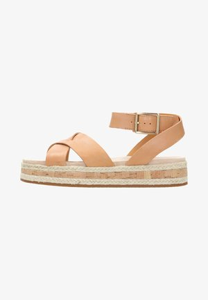 BOTANIC POPPY - Walking sandals - brown