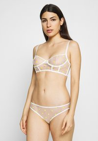 Le Petit Trou - CORSET PAULA - Underwired bra - white/yellow - 1