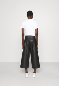 Holzweiler - CELICE - Kožené kalhoty - black - 2
