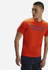 North Sails - T-shirt imprimé - red - 2
