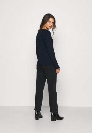MONTIVA LONG SLEEVE - Maglione - navy