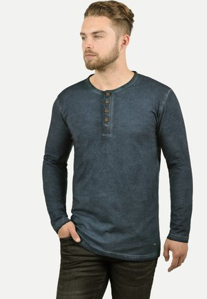 RUNDHALSSHIRT TIMUR - Long sleeved top - dark blue