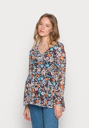 MLAMELIA  - Camiseta de manga larga - navy blazer