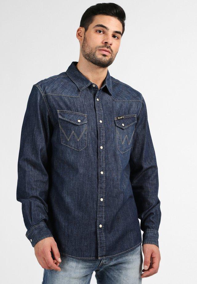 WESTERN  - Shirt - dark-blue