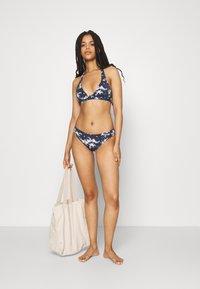 Roxy - HALT SET - Bikini - mood indigo/aqua ditsy - 1