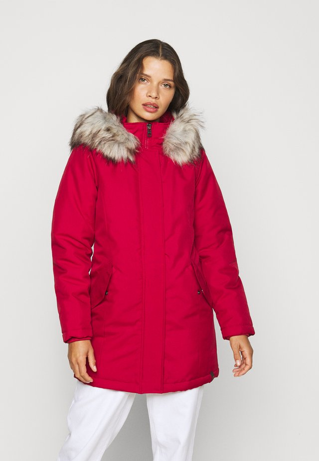 ONLKATY COAT - Parka - chili pepper