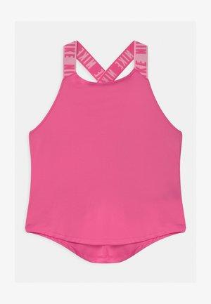 DRY TANK ELASTIKA - T-shirt de sport - pinksicle/white