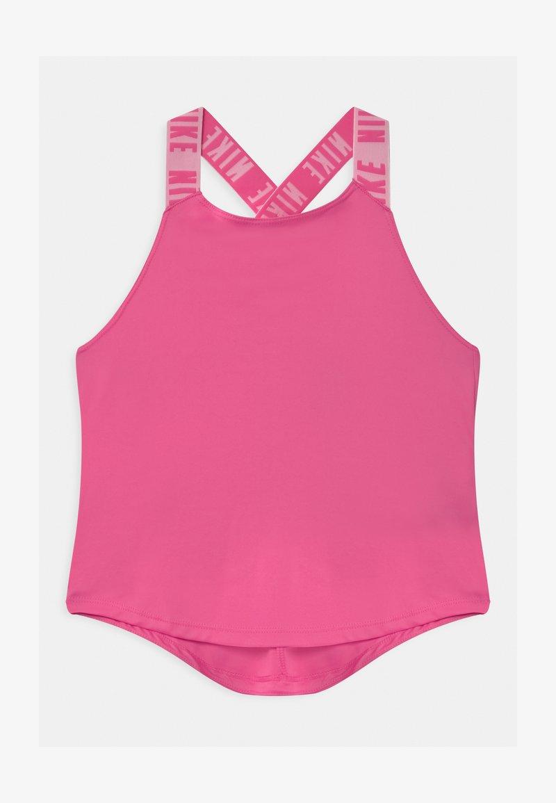 Nike Performance - DRY TANK ELASTIKA - Koszulka sportowa - pinksicle/white