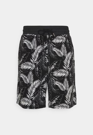 TROPICAL DARK - Shorts - black