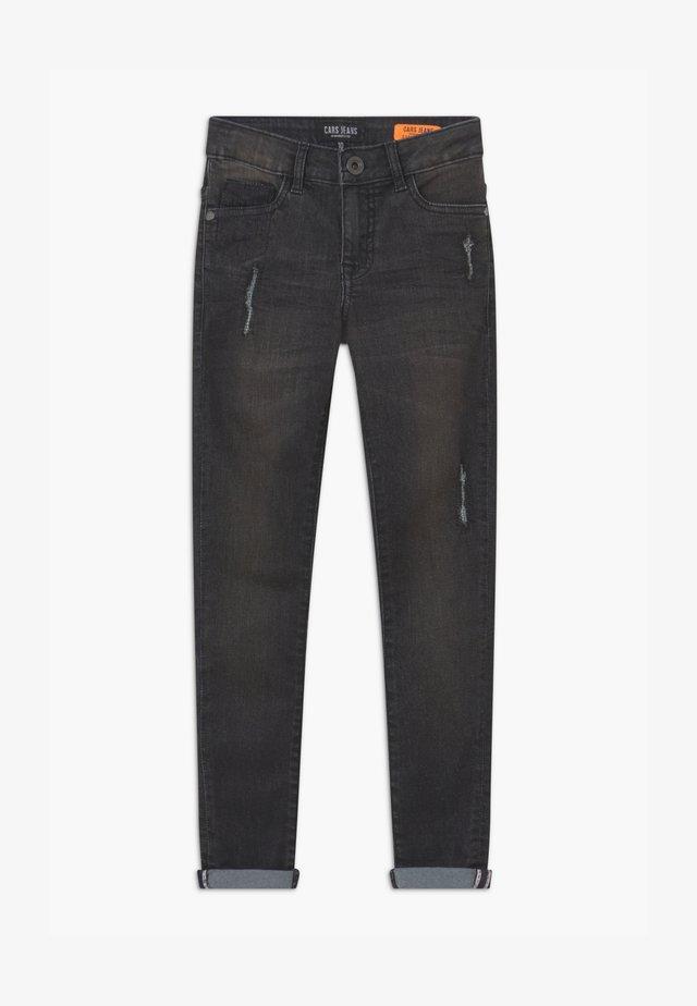 BONAR - Slim fit jeans - black denim