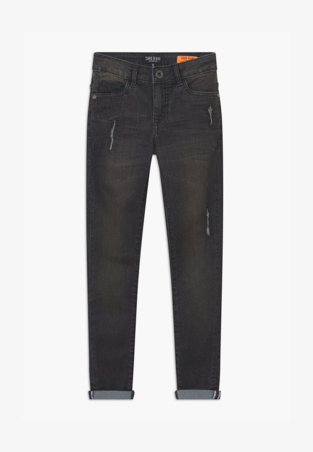 BONAR - Jean slim - black denim