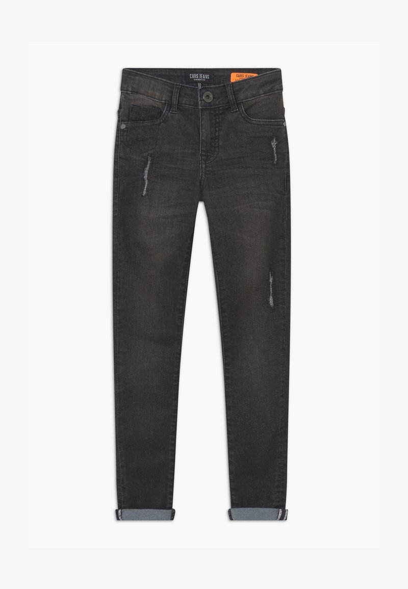Cars Jeans - BONAR - Slim fit jeans - black denim