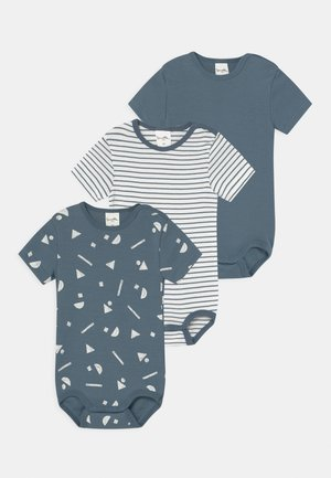 3 PACK UNISEX - Body - faded blue