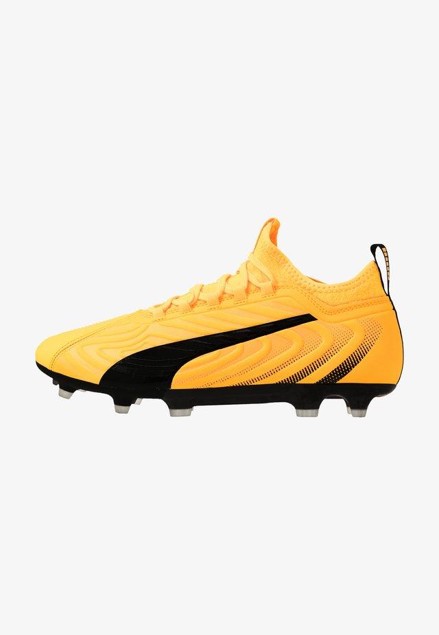 ONE 20.3 FG/AG - Fotbollsskor fasta dobbar - ultra yellow/black/orange alert