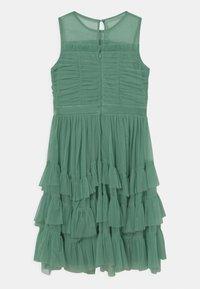 Anaya with love - SLEEVELESS RUFFLE DRESS - Koktejlové šaty/ šaty na párty - clover green - 1