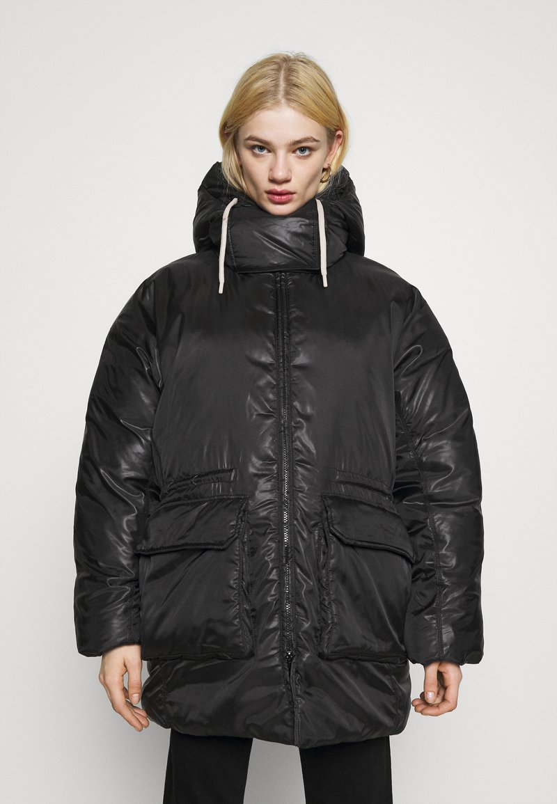 Weekday - MARTINE PUFFER - Winter coat - black