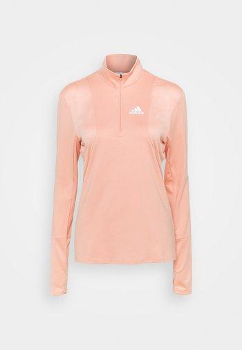 1/2 ZIP - Maglietta a manica lunga - ambient blush