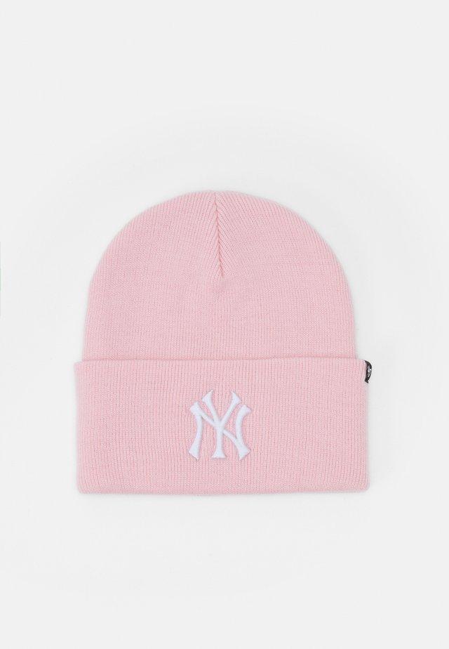 NEW YORK YANKEES HAYMAKER CUFF UNISEX - Beanie - pink