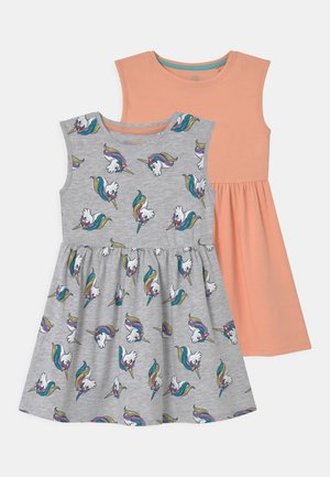 SMALL GIRLS 2 PACK - Jersey dress - prairie sunset