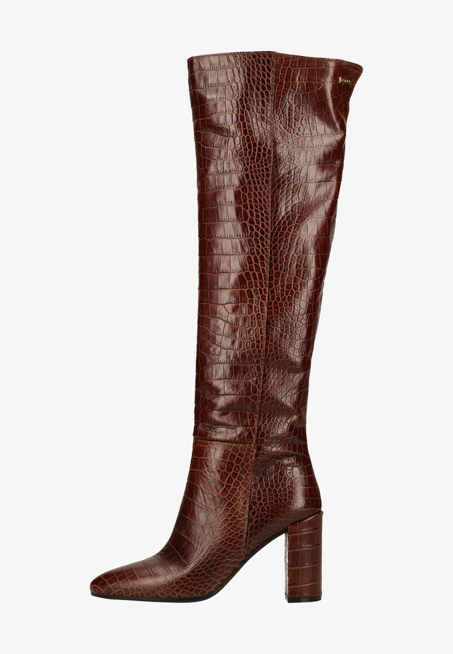 High heeled boots - bruciato 582
