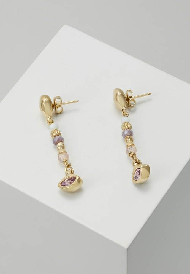 MY LUCK CHARM DROP EARRING - Boucles d'oreilles - rosa