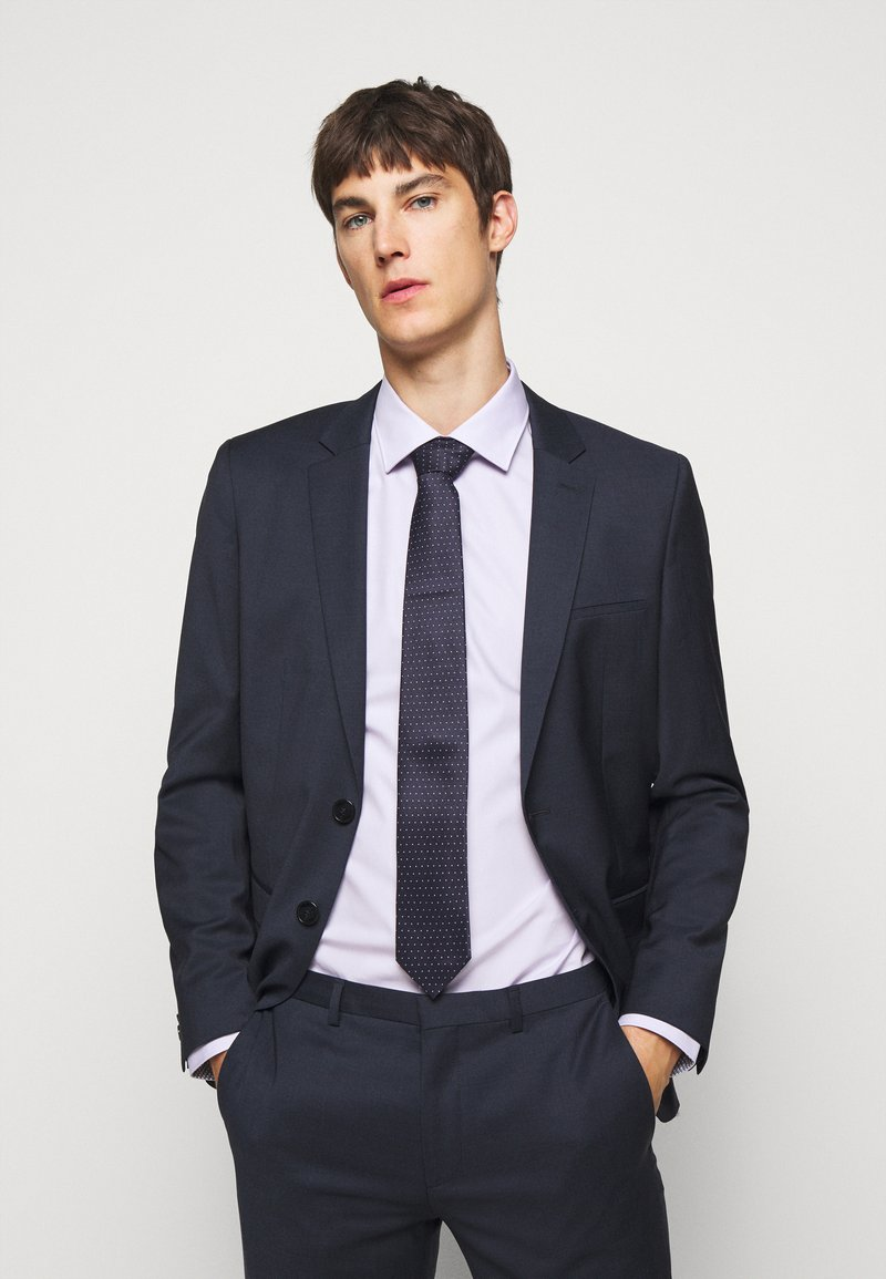 HUGO - TIE - Tie - medium blue