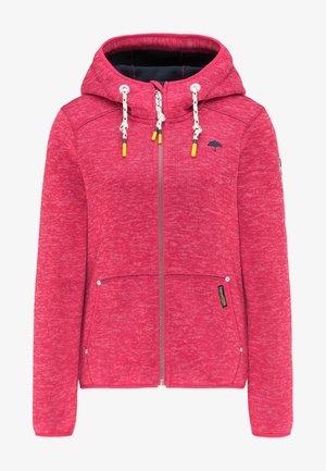 Fleece jacket - sorbetrot melange