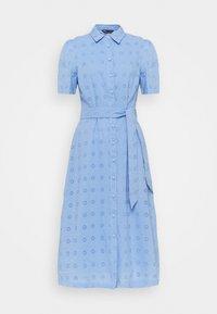 Marks & Spencer London - BROIDERIE - Shirt dress - blue - 0