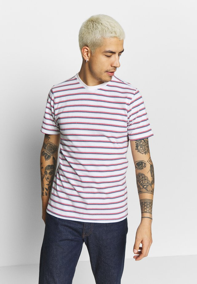 STRIPED - T-shirt imprimé - multi