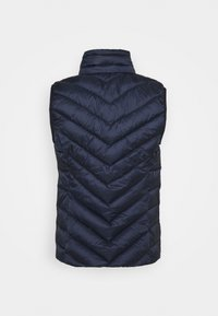 Esprit - PER THINSU VEST - Waistcoat - dark blue - 2