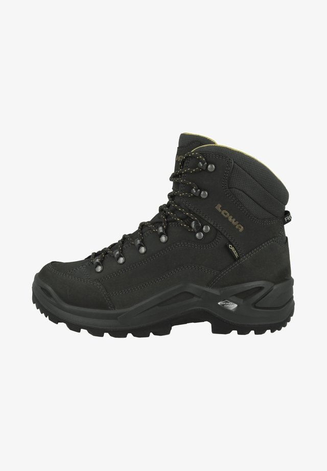 Outdoorschoenen - anthrazit-senf