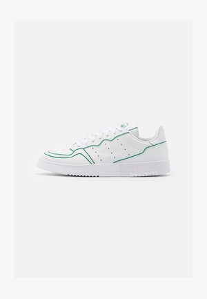SUPERCOURT UNISEX - Sneaker low - footwear white/green