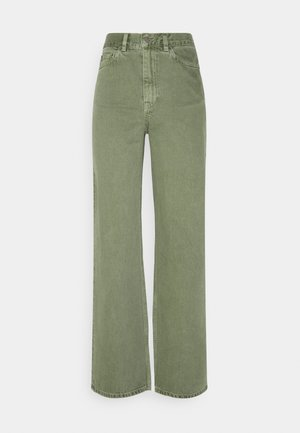 ECHO - Straight leg jeans - washed green