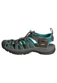 Keen - WHISPER WOMEN - Walking sandals - dark shadow/ceramic - 5