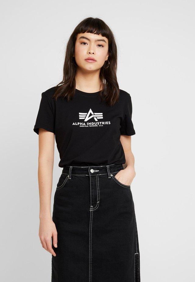 NEW BASIC - Print T-shirt - black