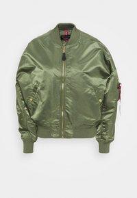 Bomber Jacket - sage green