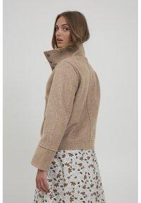 b.young - BYBELLA  - Light jacket - tannin melange - 2
