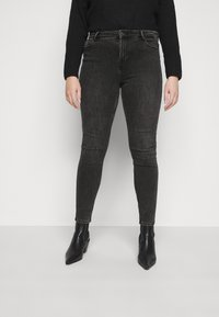 Pieces Curve - PCLILI  - Jeans Skinny Fit - black - 0