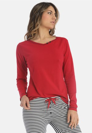 SEA SPIRIT - Pyjama top - red