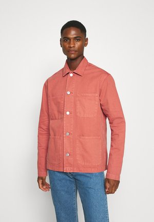 SLHLOOSETONY OVERSHIRT - Summer jacket - flame