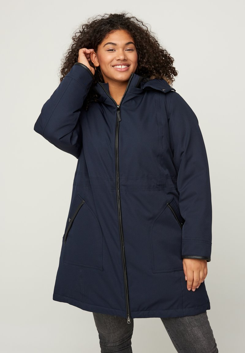 Zizzi - Winter coat - dark blue