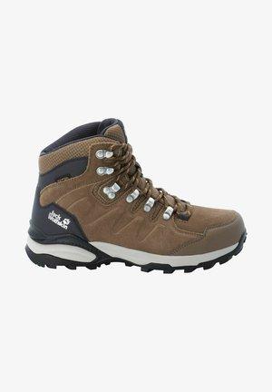 REFUGIO TEXAPORE MID - Hiking shoes - brau